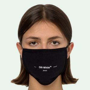 Off-White Black Face Mask